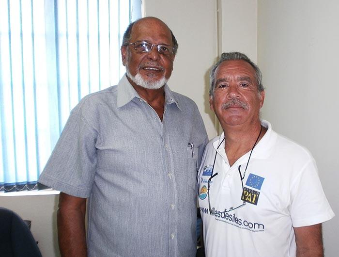 Patrick Baucelin en JAMAIQUE, avec JOHN MARSH Tourism Office