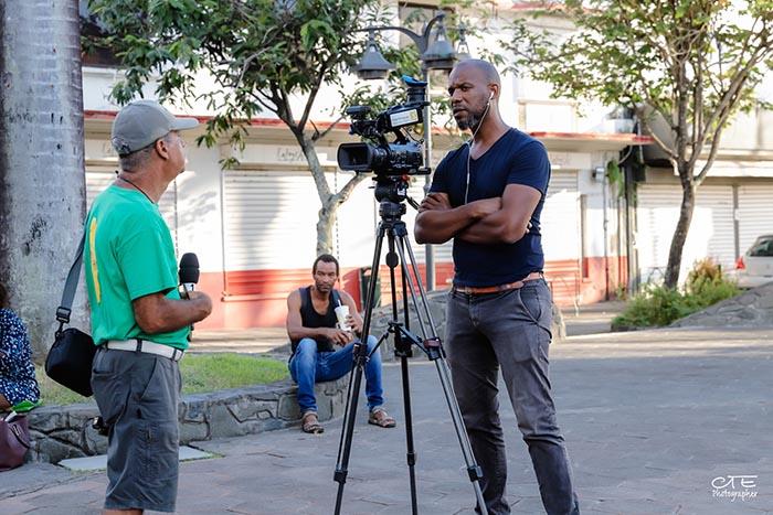 Interview sur le tournage de