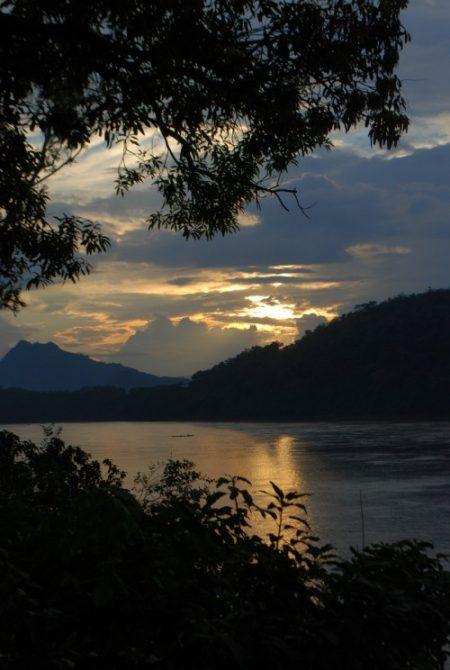 Luang Prabang, Sunset on the Mekong river