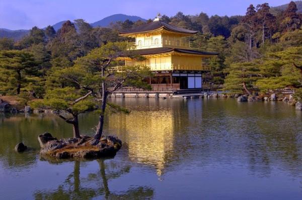 Kyoto, Kinkakuji - Golden pavillion