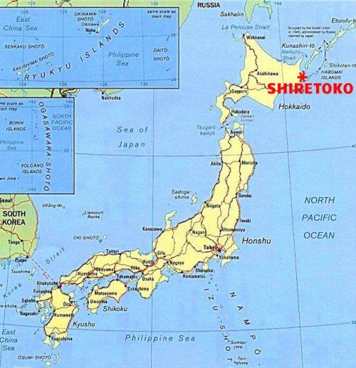 where is Shiretoko