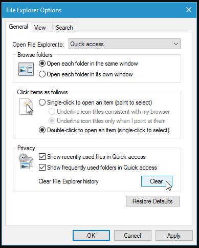 Windows 10 File Explorer Crashing Potential Fix