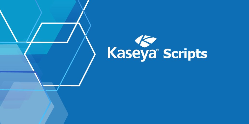 Kaseya Script for Windows Disk Cleanup
