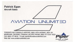 aviation unlimited - sales rep