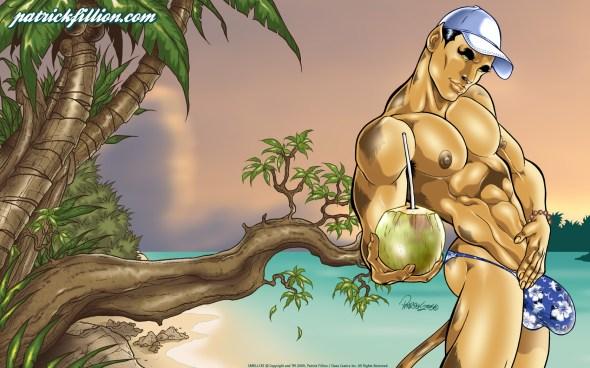 Camili-Cat's tropical paradise - 1680x1050