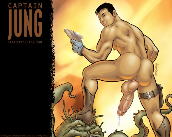 Captain Jung victorious - 1280x1024