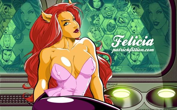 Beautiful Felicia - 1680x1050
