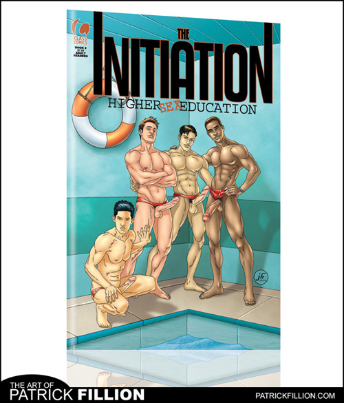 The Initiation #2 - Written by Robert Fraser and illustrated by Joseph Hawk -- coming soon from Class Comics!