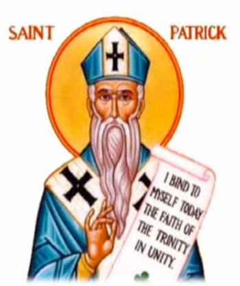 Image result for saint patrick blue