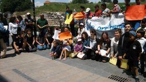 Vluchtelingen in Larissa