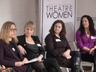 Panelists: Erika Mallin, Executive Director, Signature Theatre Company, Angelica Page, Actress/Writer/Producer, Jill Rafson, Literary Manager, Roundabout Theatre Company, Giovanna Sardelli, Theatre Director