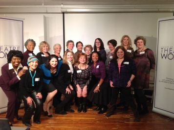 TOP ROW Left to Right: President Billie Allen, President Lynda Sturner, President Isobel Robins, President Harriet Slaughter, President Joan Firestone, President Lynne Rogers, President Rachel Reiner, President Kristin Marting, President Lorca Peress, and President Maxine Kern. BOTTOM ROW Left to Right The Networking Committee: Co-Chair and Board Member Richarda Abrams, Board Co-Secretary and Women Stage the World member Dorothy Leeds, Co-Chair Romy Nordlinger, Think Tank member Ivy Austin, Salon Series Chair Frances McGarry, Cynthia Robinson, and June Rachelson Ospa.