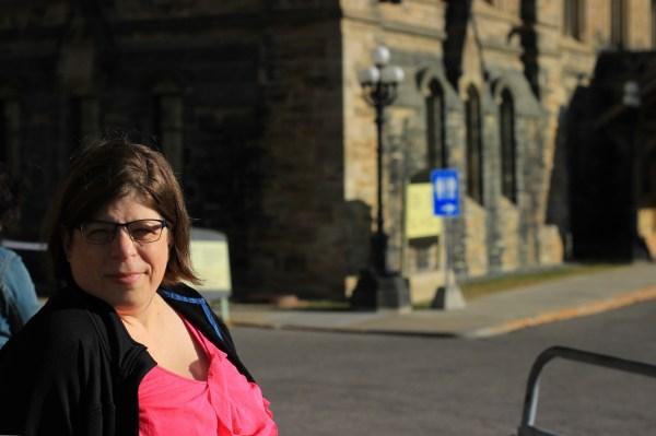 Kathleen at Parliament