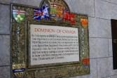 Dominion of Canada plaque