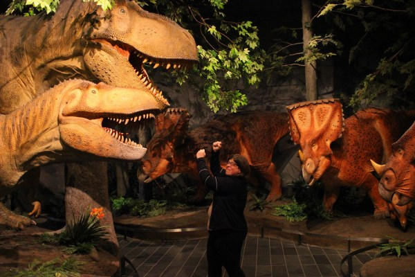 Kathleen and the T. Rexes