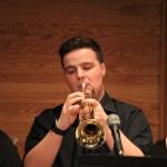 Julian on trumpet
