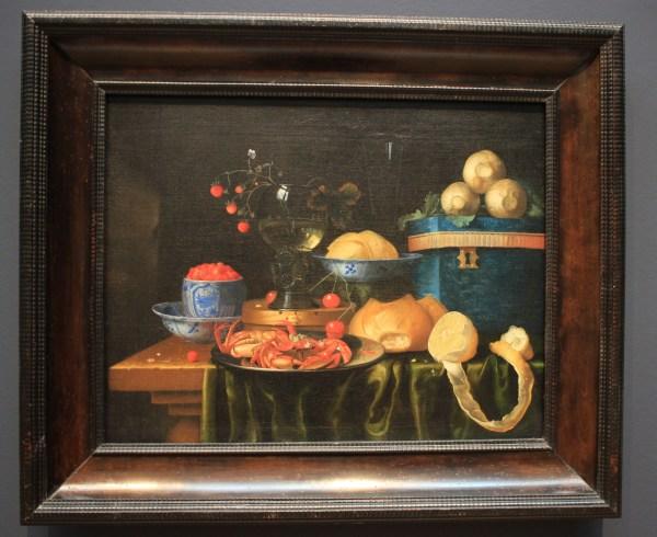 Still Life with Crabs, by Joris van Son