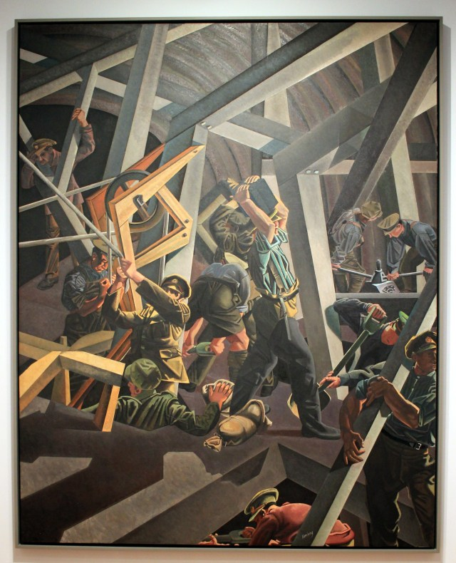 Sappers at Work, by David Bomberg