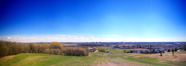 Panorama of Brandon from the North HIll