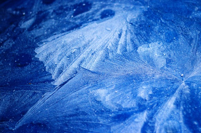 Frost on my car's hood
