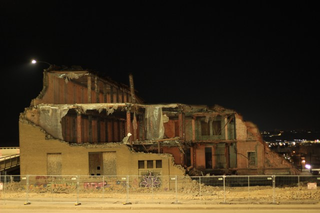 Kullbergs Warehouse demolition