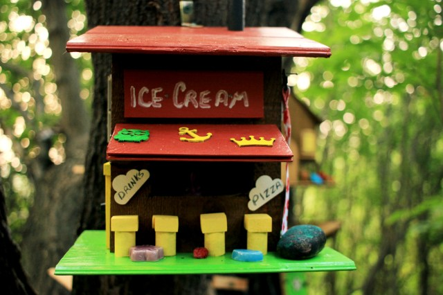 A tiny ice cream shoppe