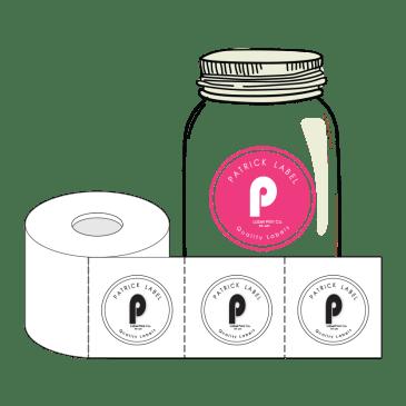 Custom Shape Roll Labels