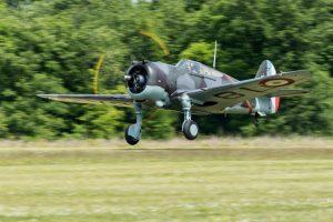 Avion avec hélice floue
