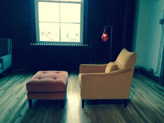 Newton Club Chair and Ottoman