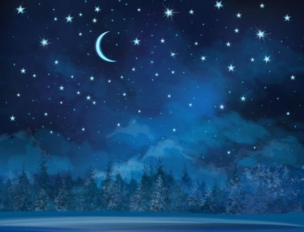Stars shining