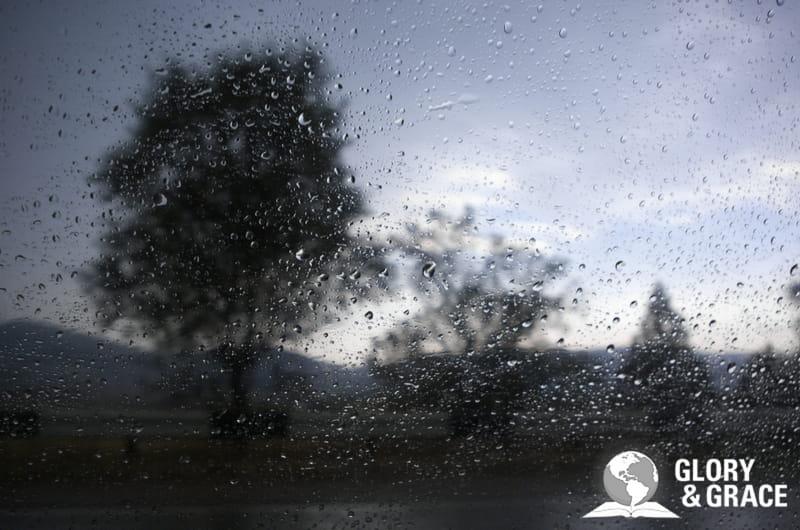elijah prayed for rain