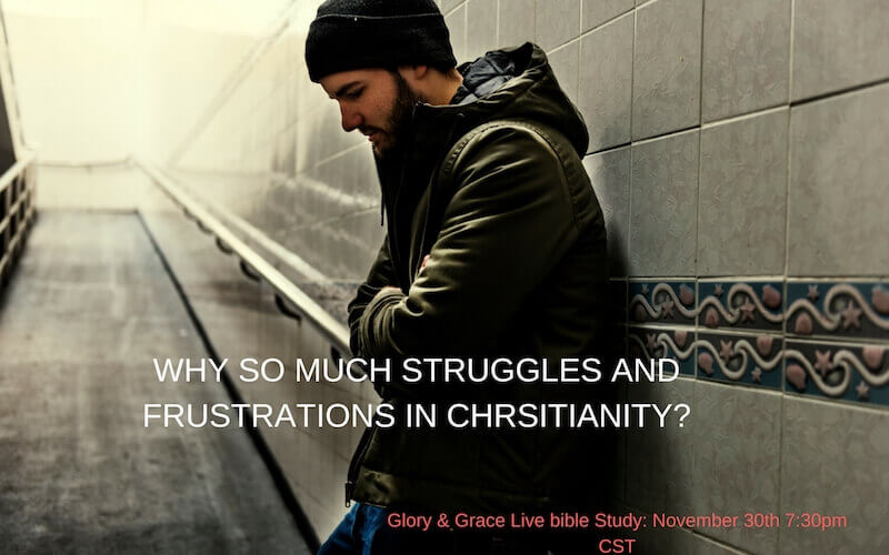 Why so much struggles in Christianity