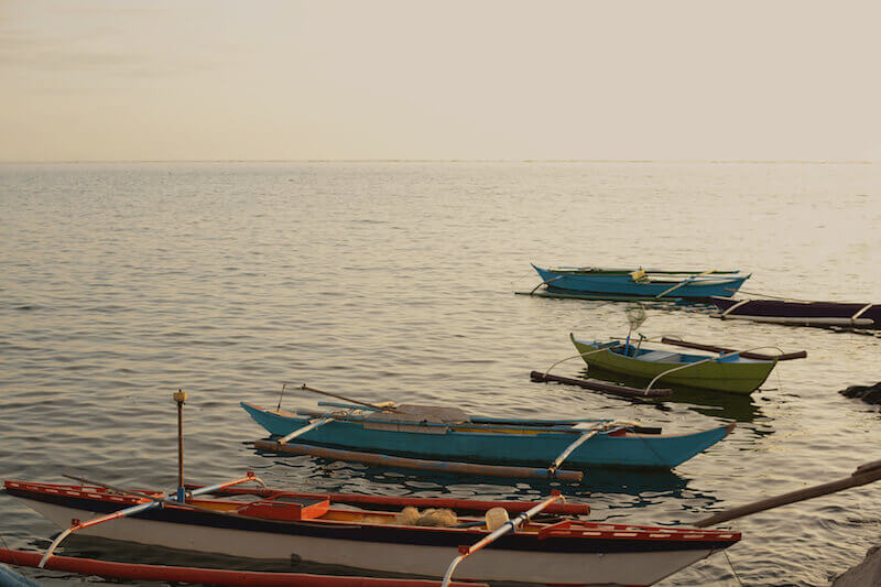 We have Toiled All Night showing fishing boats