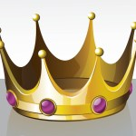 Firstborn of every creature showing a crown
