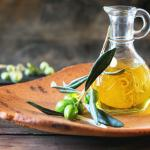 i will pour out my Spirit showing a jar of olive oil