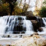 smitten rock showing a waterfall