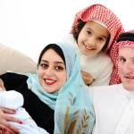 born of God showing an arabic family