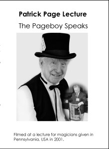 Pageboy Speaks Lecture for website