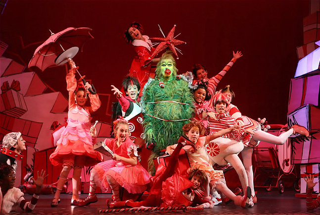 Dr Seuss How The Grinch Stole Christmas  Patrick Page