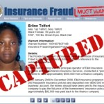 Florida Captures 'Most Wanted' Insurance Fraudster; Erline Telfort Accused Of Operating Ponizi Scheme To Steal From Finance Company