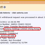 Is Ponzi Legend 'Ken Russo,' AKA 'DRdave,' Now Performing PR Work For Club Asteria In Wake Of Negative Findings By Italian Regulator? Infamous Forum Pitchman Who Claims To Have Received Thousands Of Dollars Via Wire From Firm Posts 854-Word Club Asteria Puff Piece On TalkGold