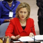 U.S. Secretary Of State Hillary Rodham Clinton Being Treated For Blood Clot Behind Right Ear
