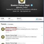 URGENT >> BULLETIN >> MOVING: Bombing Suspect In Custody, Boston Police Say
