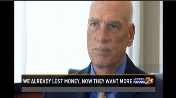 WFMY interviewed Zeek rewards receiver Ken Bell as part of its report on a reload scam.""
