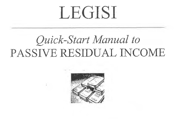 """This Legisi """"Quick Start Manual"""" showed investors how to open payment accounts at E-bullion and e-Gold, both of which provided services to HYIP scams and both of which were implicated in money-laundering schemes. e-Bullion operator James Fayed was convicted in 2011 of arranging the grisly murder of his wife."""