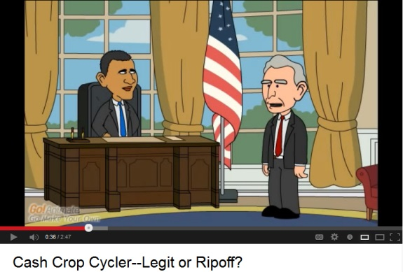"""""""President Obama"""" and """"Vice President"""" Biden in a video that appears to be designed to drive sign-ups for Empower Network, an MLM """"program."""""""
