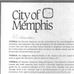 WREG (CBS/Memphis): City Of Memphis Rescinds 'Moorish American Week' Proclamation That Suggested 'Sovereign Theocratic Government' Independent Of Existing Governments In The Americas Had Been Formed