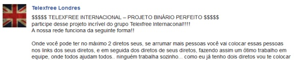 Not even the tragic suicide death of a TelexFree member in Brazil could stop promos for TelexFree -- right below a story reporting on the woman's death.
