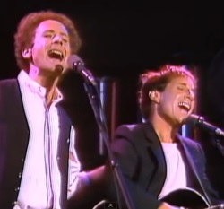 "Simon & Garfunkel sang ""The Boxer"" and included the famous ""missing verse"" at a Central Park concert in 1981 attended by 500,000 people."