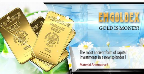 "The EmGoldEx ""program"" describes gold as cash and the ""new splendor."""
